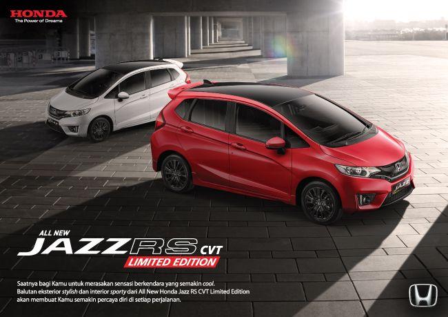 All New Honda Jazz Rs Cvt Limited Edition Dealer Mobil Honda Ahmad