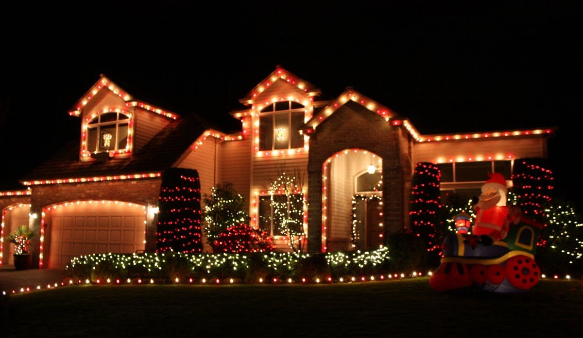 Christmas Lights: A Drive And A Little Inspiration... | Christmas ...