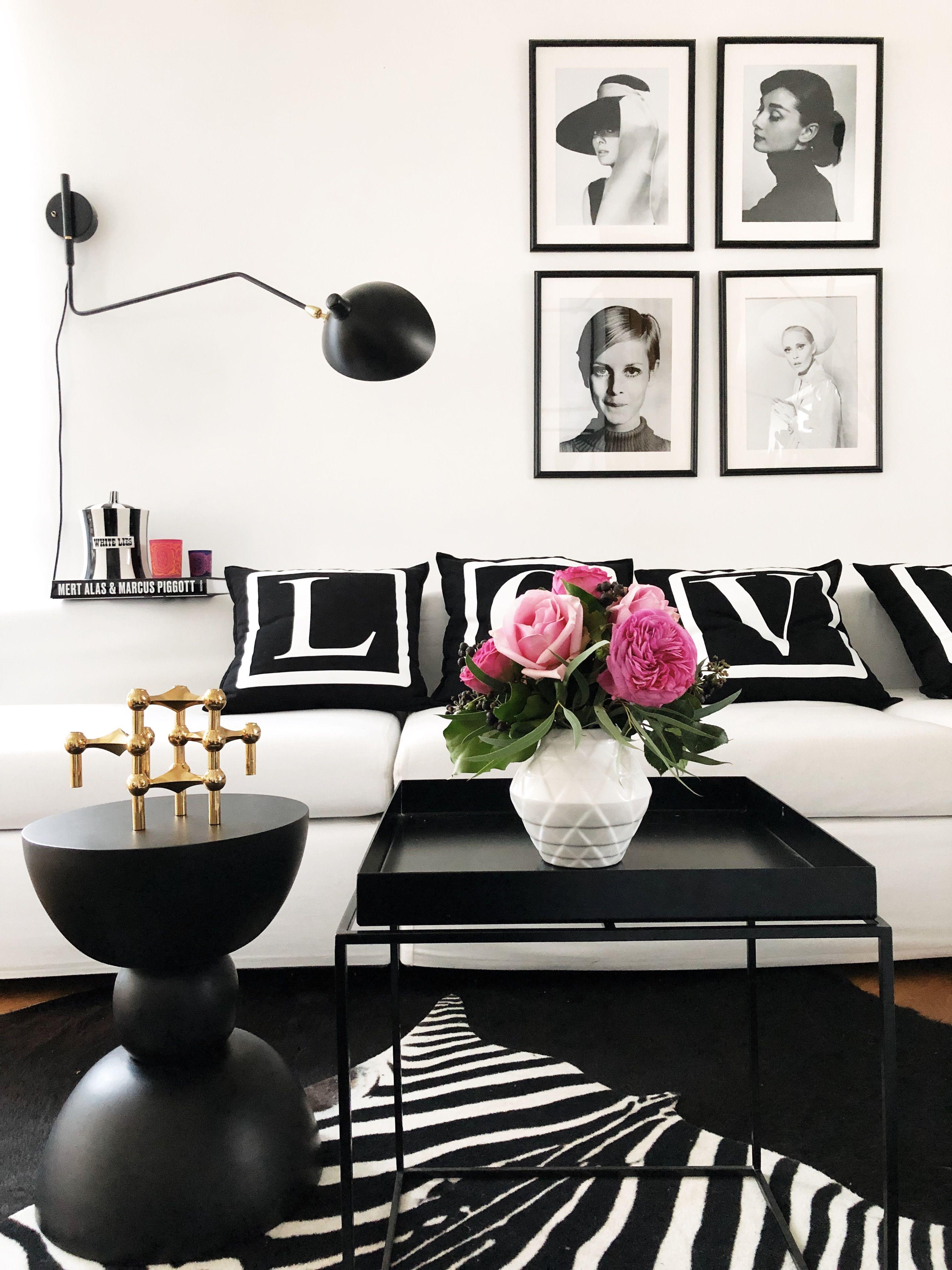 Werbung #Glamstyle #Wohnzimmer #scandinavian #weißessofa