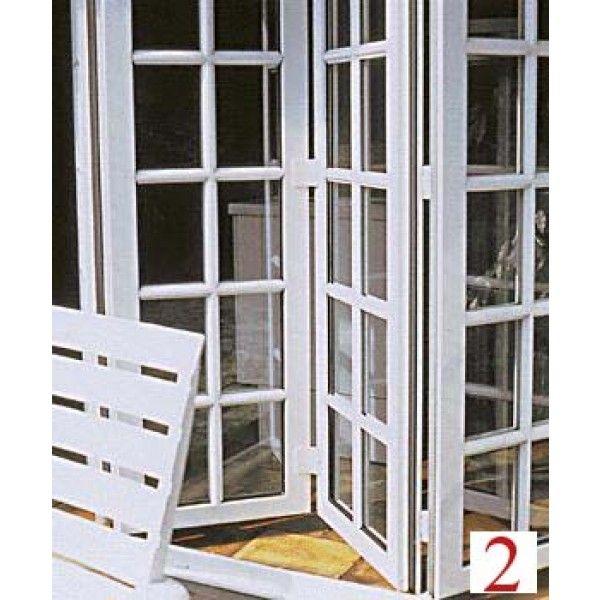 Resultado de imagen para ventanas plegables de aluminio for Ganchos para puertas plegables