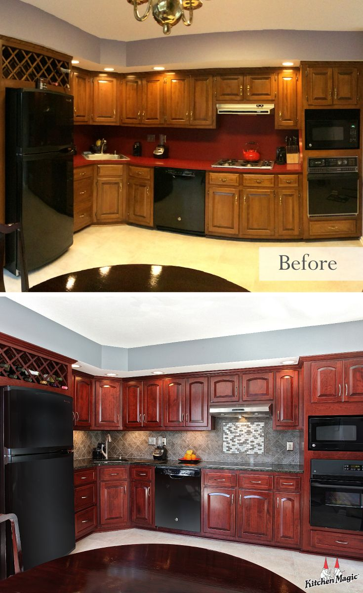 How Much Does Refacing Kitchen Cabinets Cost? | Pinterest