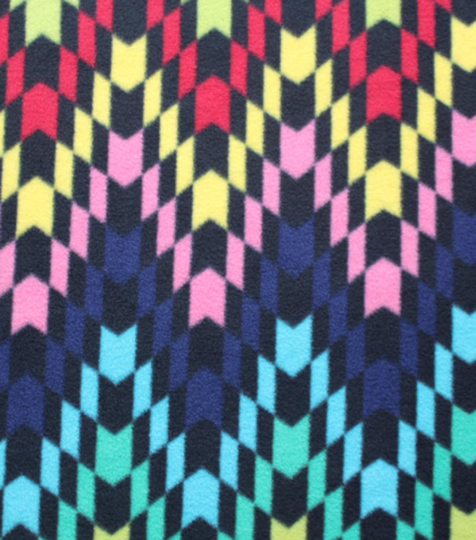 Latin Marana Fleece Fabric 59''-Bright Geometric