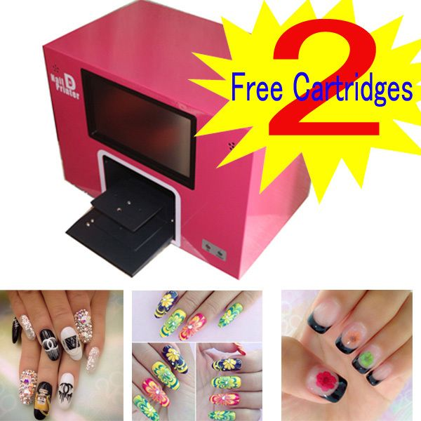 free shipping CE art nails machine art nails nail printing machine ...