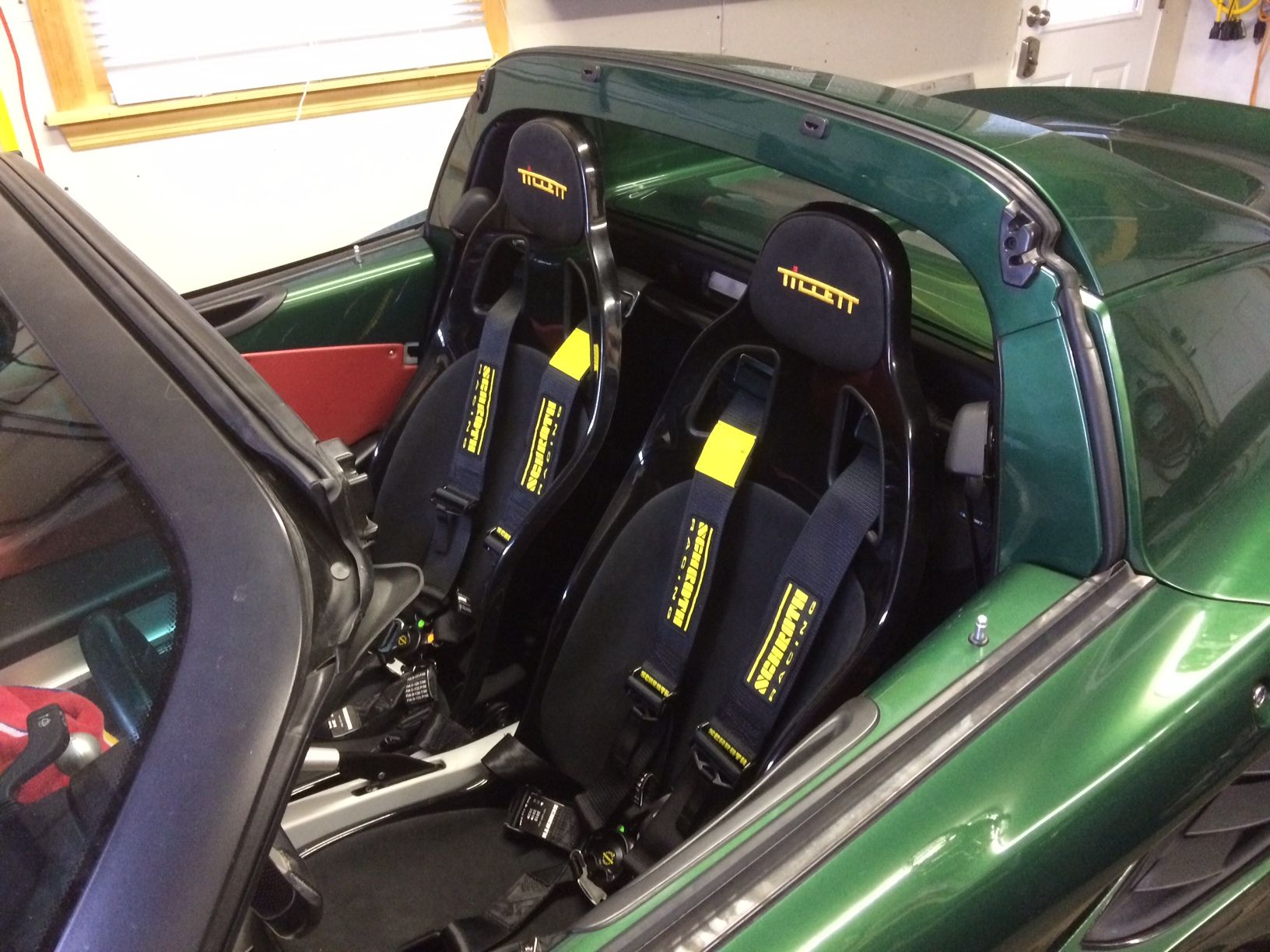 British racing green lotus elise with tillett b5 seats installed british racing green lotus elise with tillett b5 seats installed using elise specific brackets vanachro Image collections