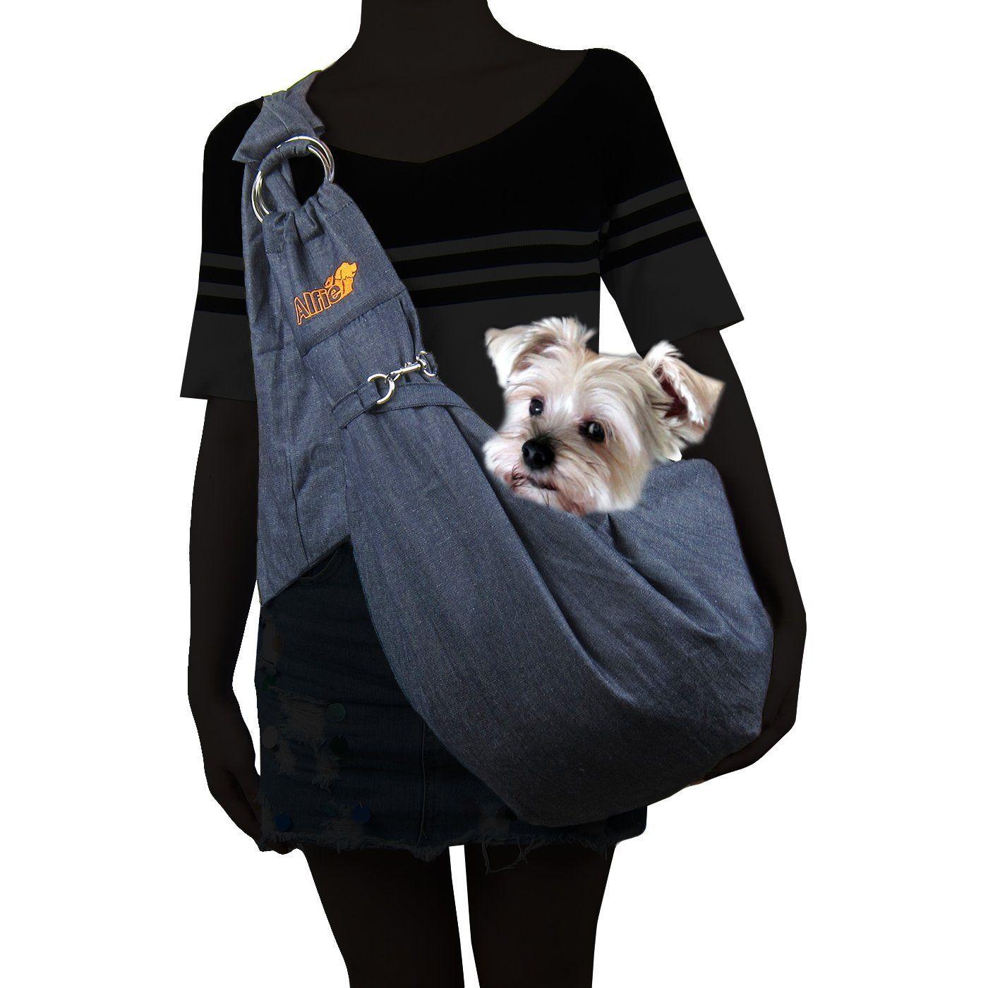 Alfie pet by petoga couture chico reversible pet sling