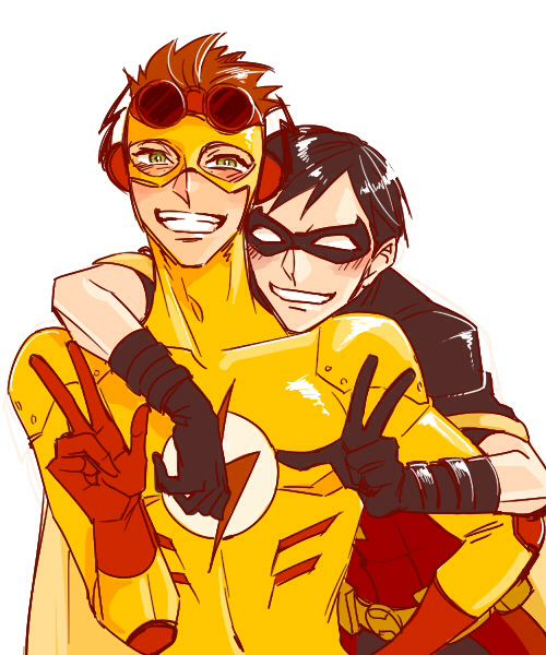 Young Justice // Robin x Kid Flash | Young Justice | Young justice