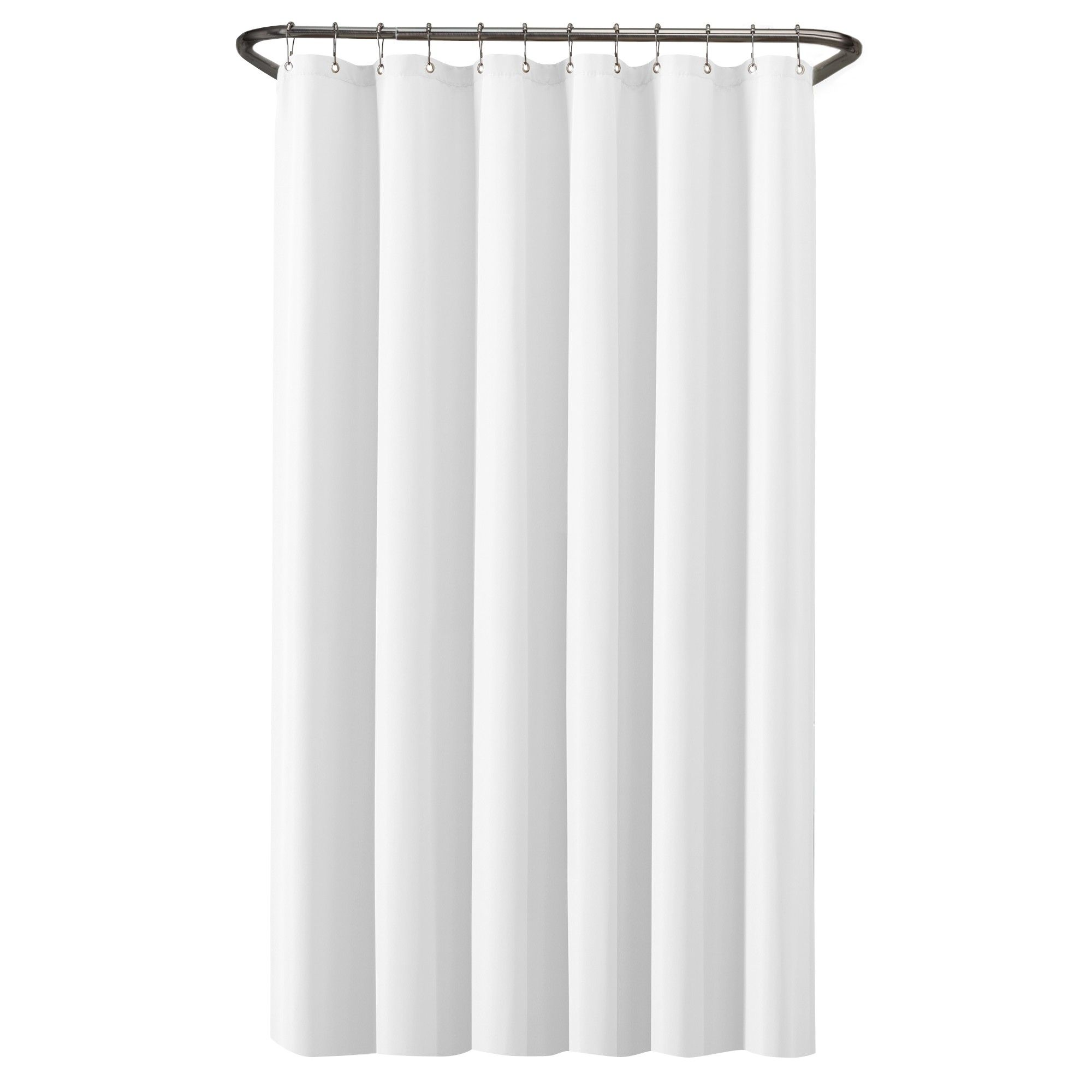 Waterproof Shower Liner White Maytex Adult Unisex Shower