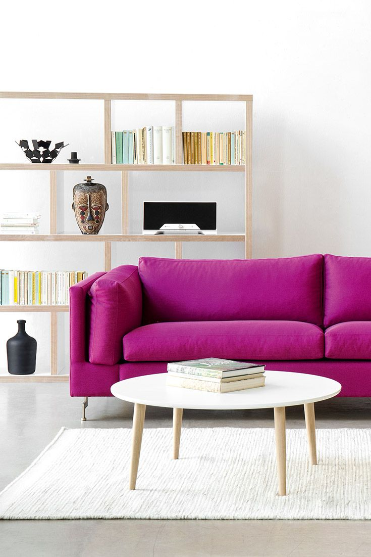 Juri Couchtisch 3-sitzer Sofa Omnia 322 I Pink – Couchtisch Juri Iii – Regal Woodstock | Home Decor, Coffee Table, Furniture