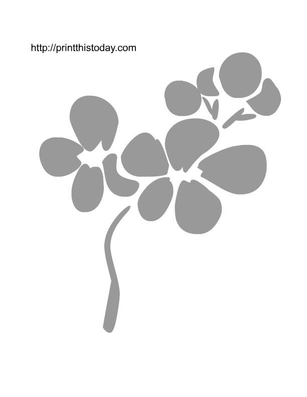 Cherry Blossom Stencil Free Stencils Printables Stencils Printables Free Stencils