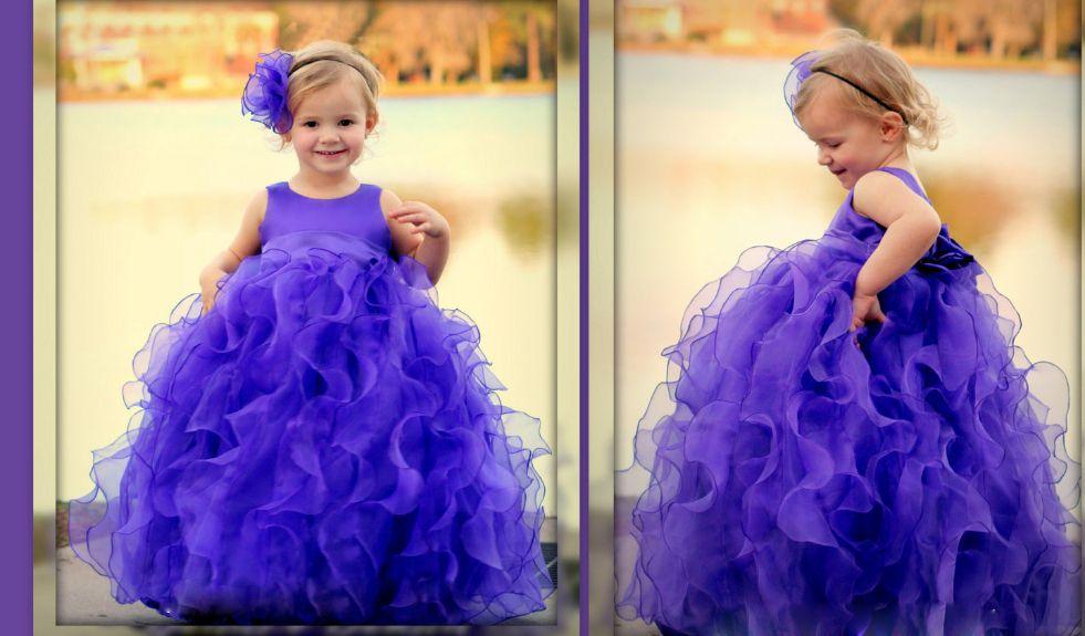 Ruffled Ball Gown Pageant Dress | Girl Dresses | Pinterest | Alibaba ...