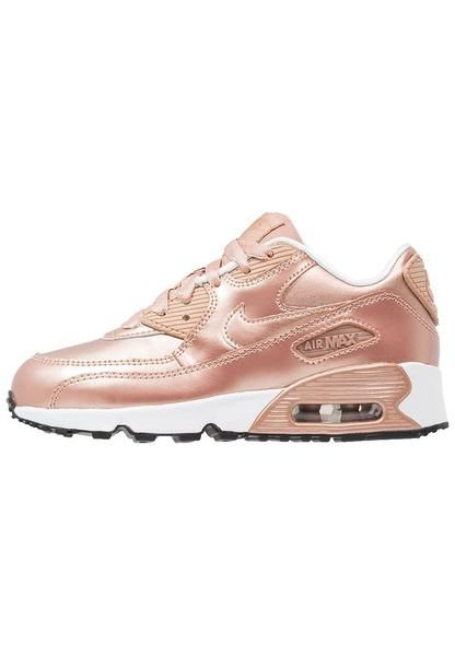 dca327336324 kids-rose-gold-nike-sportswear-air-max-90-se-trainers-metallic-red-bronze