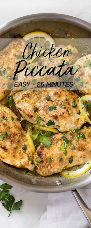Easy Chicken Piccata images