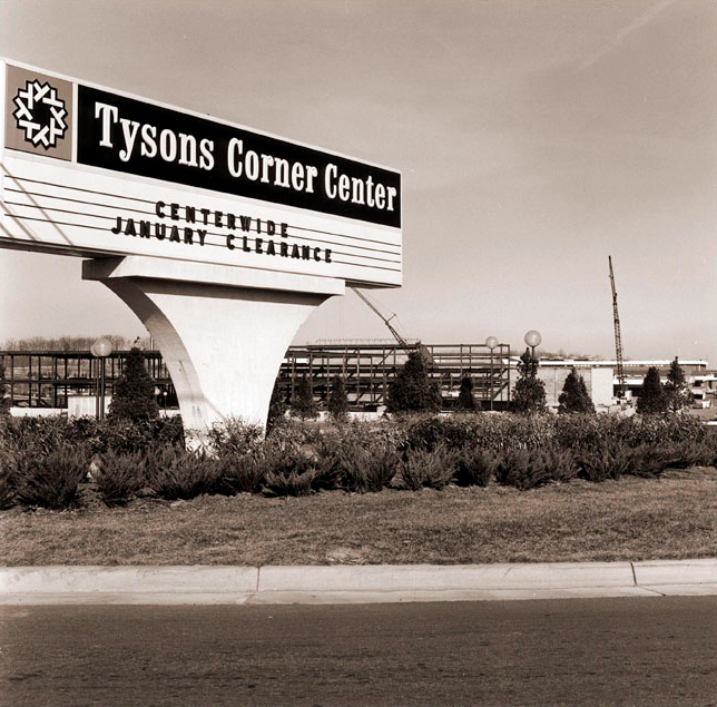 What Did Tysons Look Like In The 1960s And 1970s