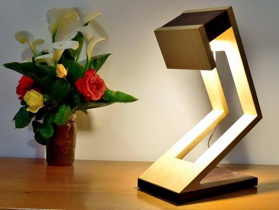 Munilo Lamp In Ipe And Tulip Tree In 2020 Wooden Lamps Design Wooden Lamp Lamp