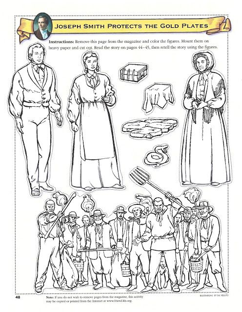 Happy Clean Living Primary 5 Lesson 5 Joseph Smith Lds