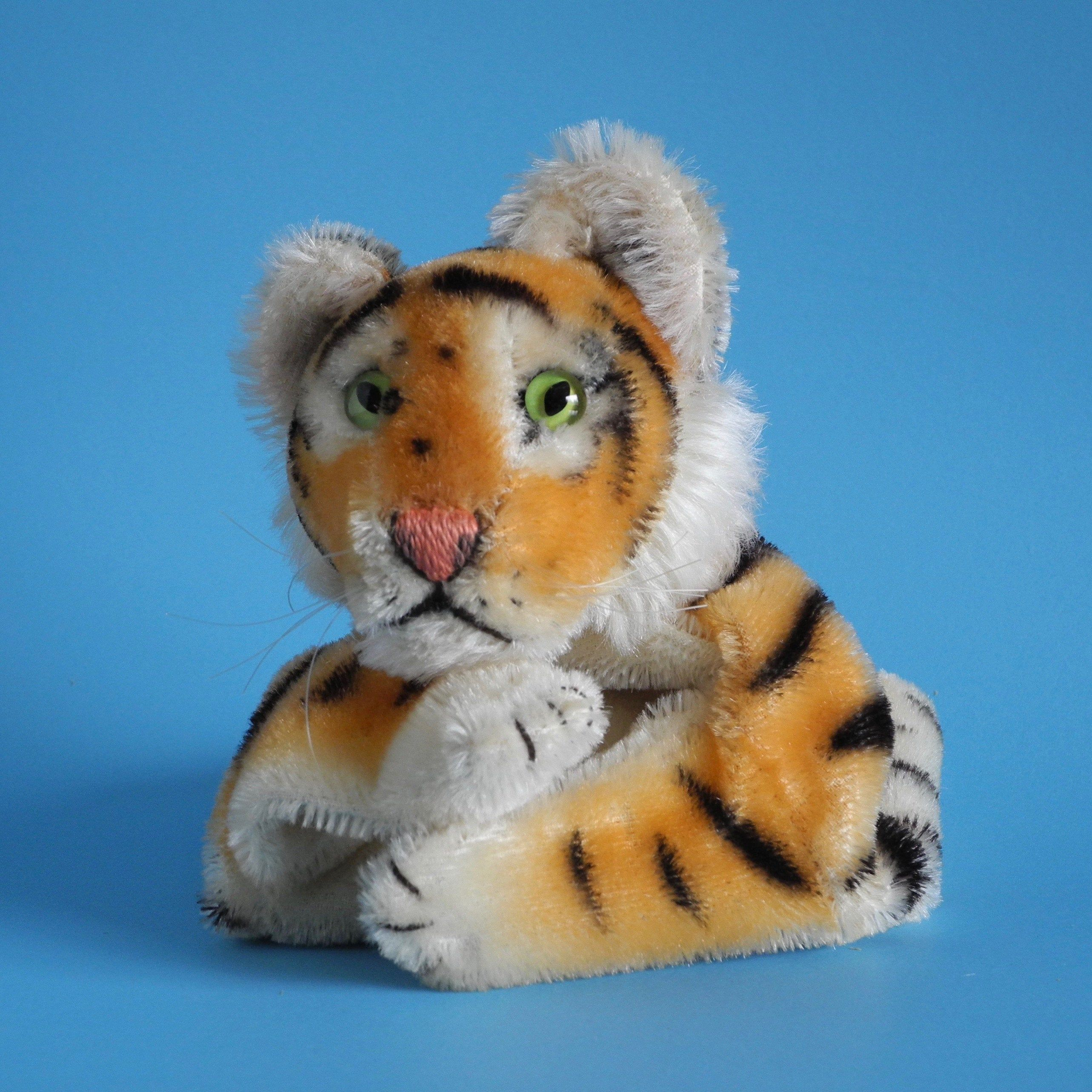 Rare STEIFF Bengal Tiger Hand Puppet Early model 195263