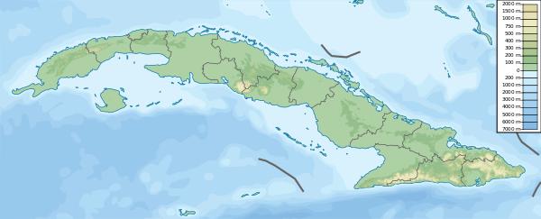 Cuba Physical Mapsvg Cuba Pinterest - Physical world map svg