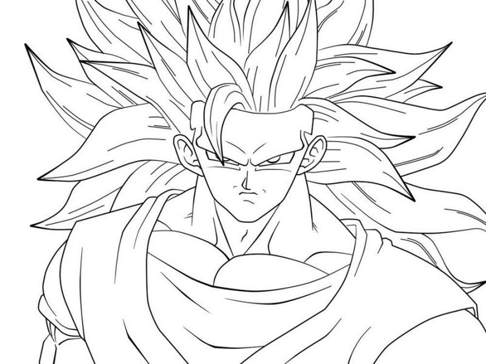 Goku Fase 10 Para Colorear: Imagenes De Goku Kakariti Fase 3 Para Im