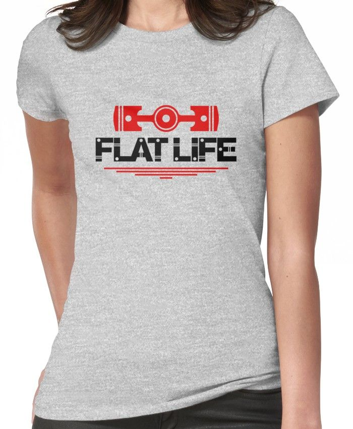 Photo of 'Flat Life (5)' T-Shirt by PlanDesigner
