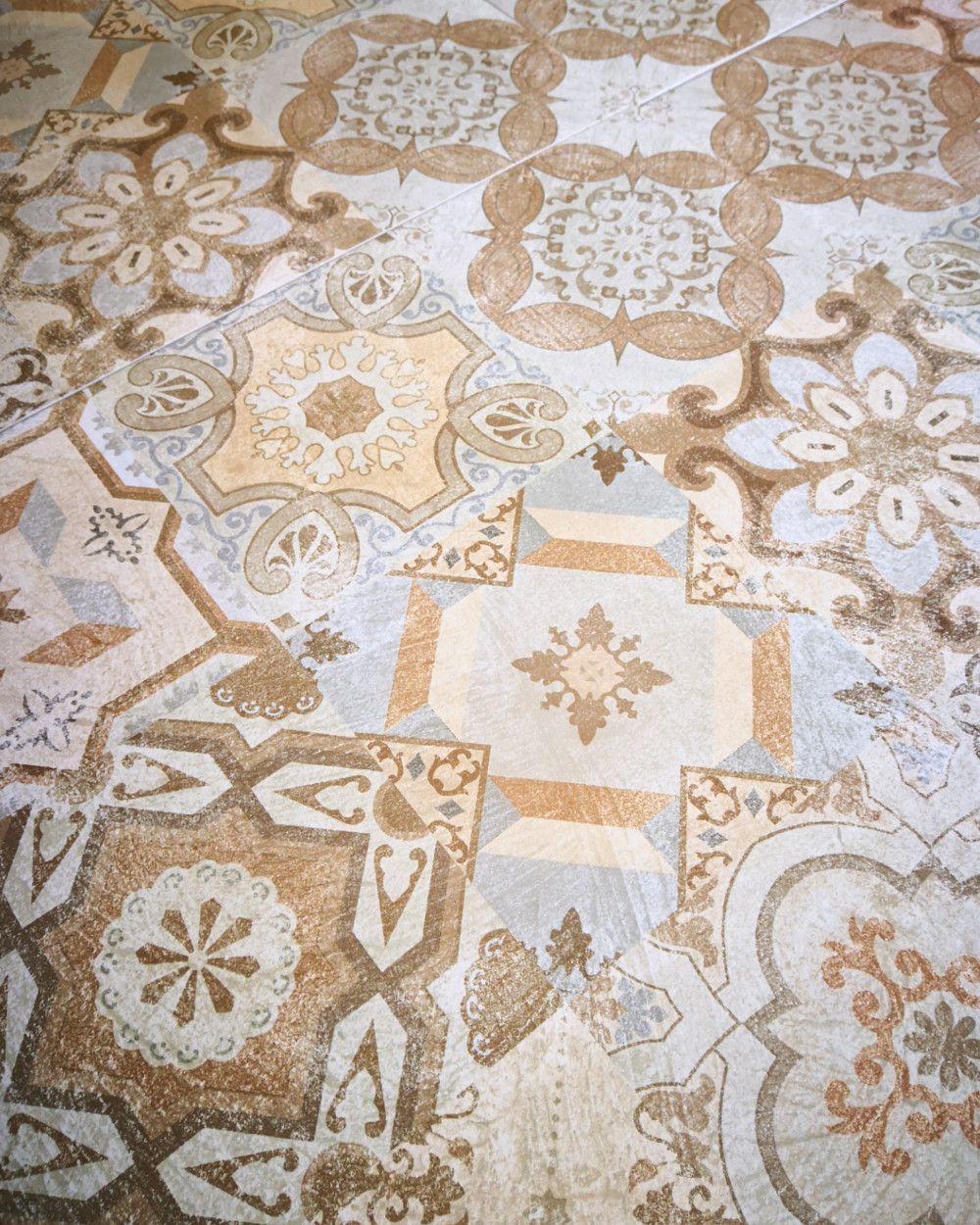 Patchwork Fliese Oriental | Teppichmuster, Fliesen ...