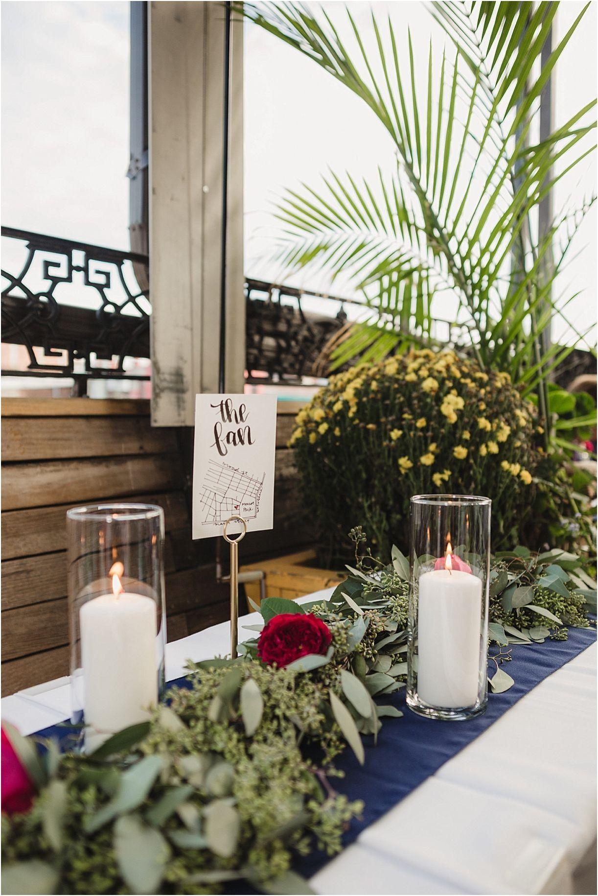 Moody Color Palette Thrives at Richmond, VA Wedding Va