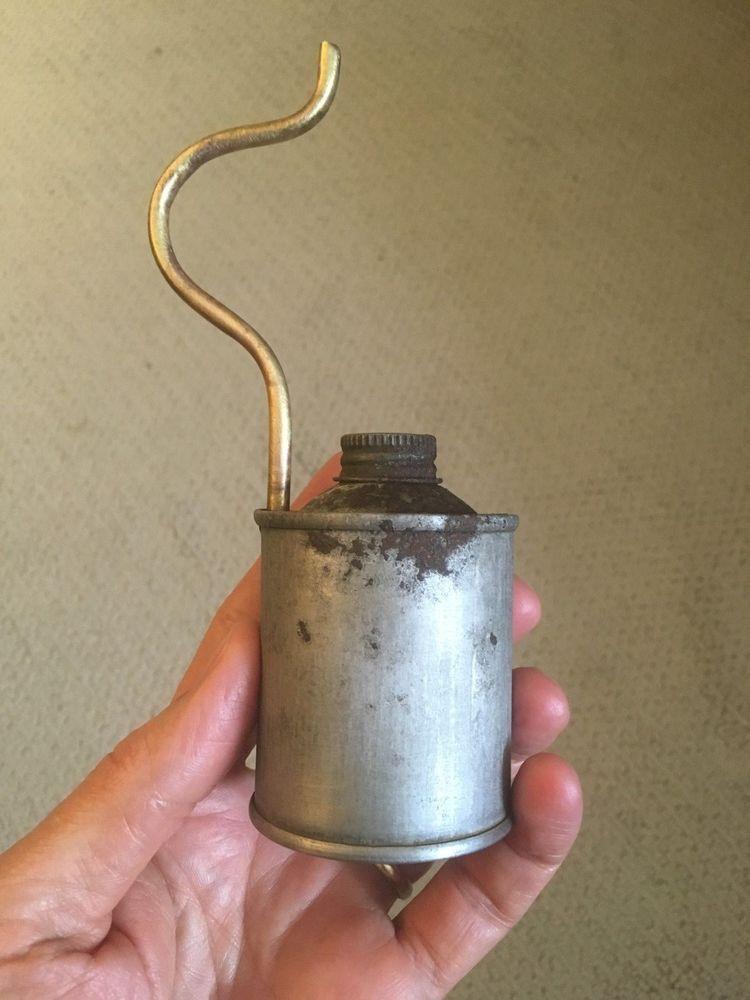 Vintage Coleman Lamp Lantern Fuel Filler Refill Can   eBay