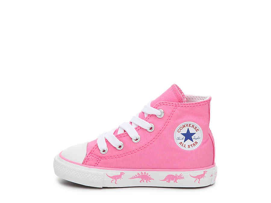 08d7cc2beb85 Converse Chuck Taylor All Star Dinosaur Infant   Toddler High-Top Sneaker  Kids Shoes