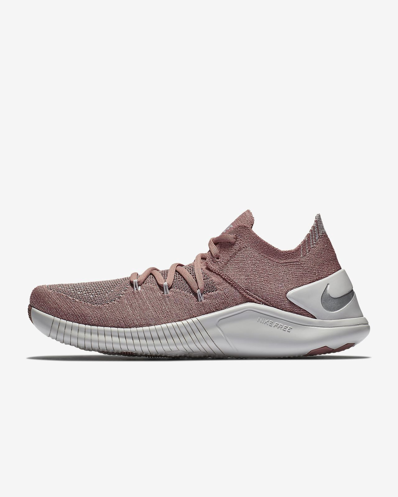 83d0be9097a1 Nike Free Tr Flyknit 3 Lm Women s Training Shoe - 10.5 Silver ...