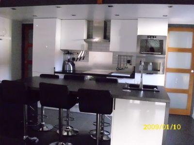 Ilot pratique et table de salle manger votre cuisine for Ilot de cuisine avec table pour 4 personnes