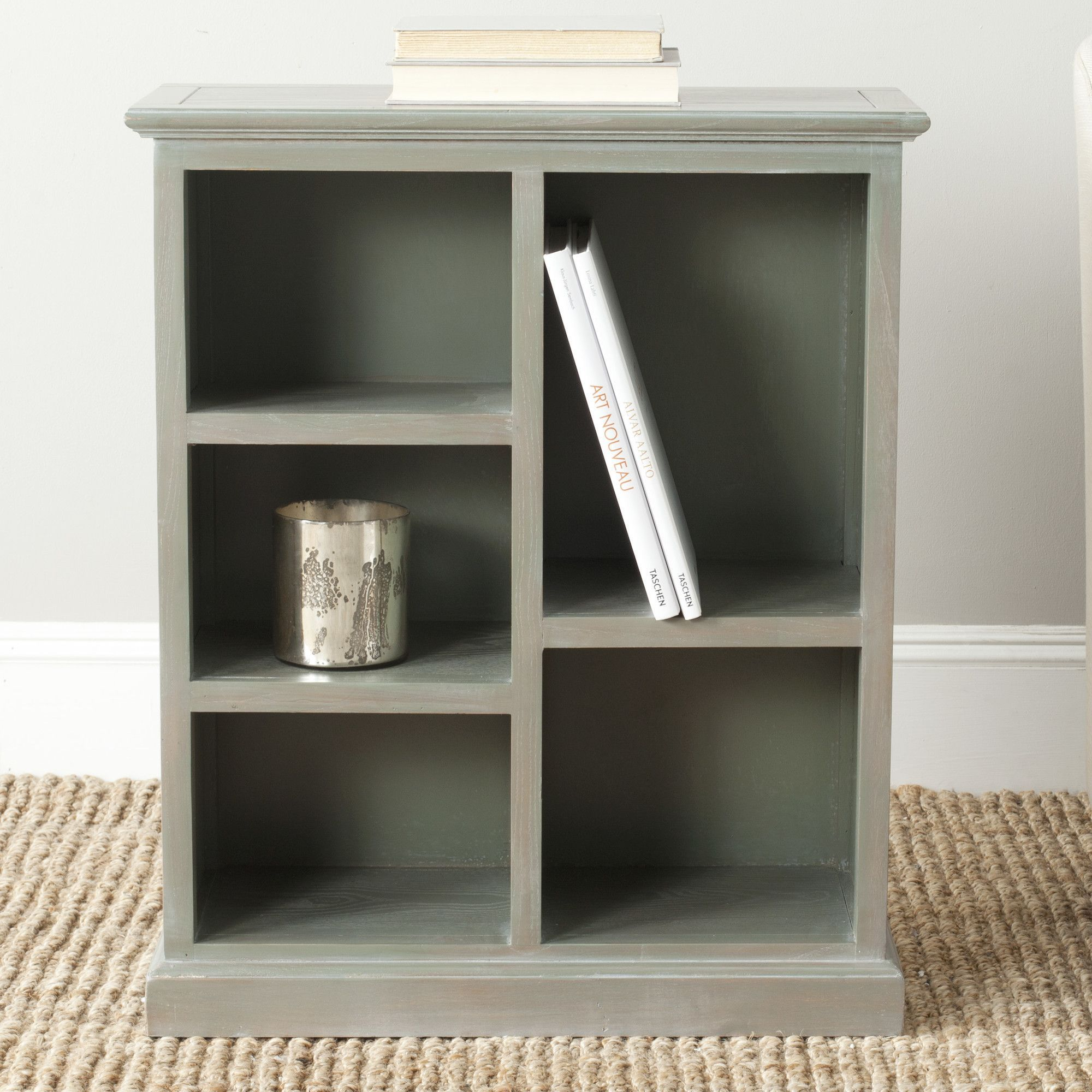 inch garden industrial bookcases bookcase free overstock shipping wood product today home