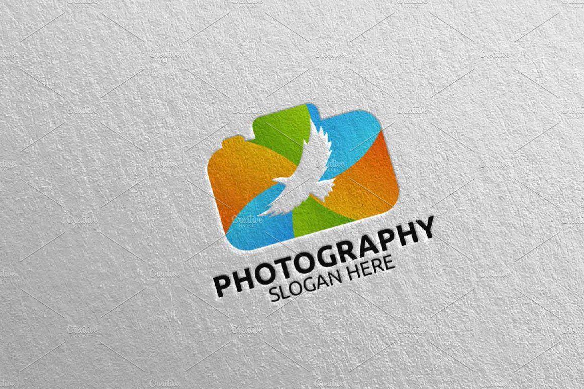 Wildlife Camera Photography Logo 40 By Denayunebgt On Creativemarket
