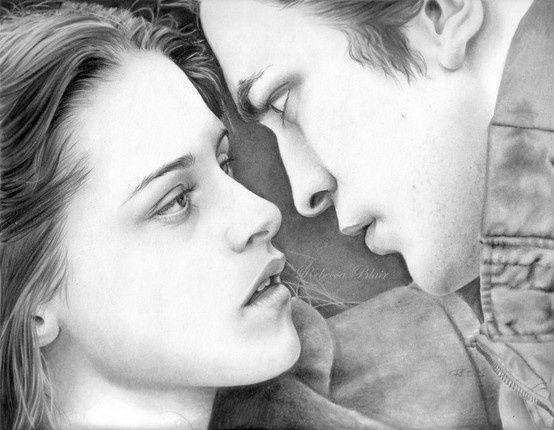 Twilight Series Fan Art Bella Edward Deviant Art The Twilight Saga Zeichnung Bella Und Edward