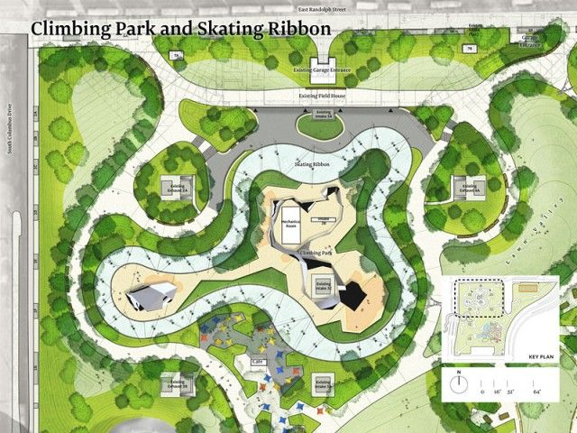 Michael Van Valkenburgh Associates Inc Landscape Design Plans