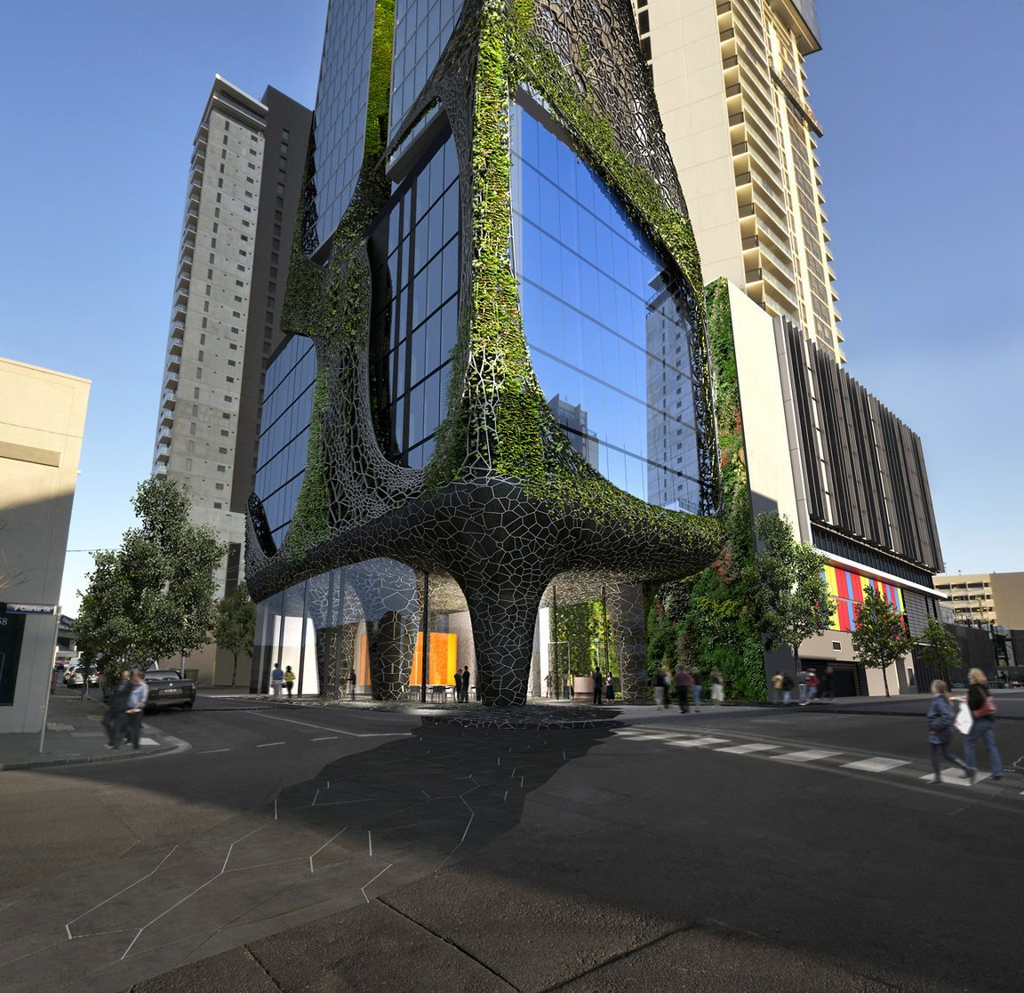 Image result for commercial street and tower