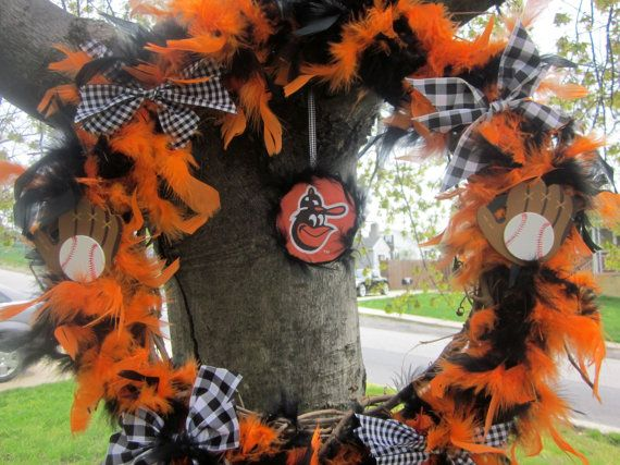 Treasury Item Baltimore Oriole's Baseball by HeartsintheClouds, $39.99