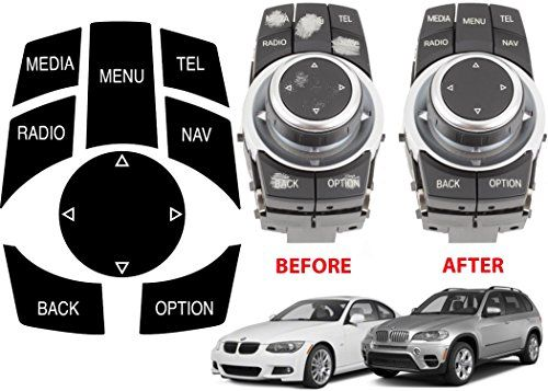 Alpha Bmw Idrive Repair Kit Replacement Stickers For Select Bmw Vehicles Bmw Cars Bmw Car Parts And Accessories
