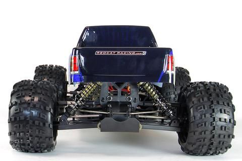 RAMPAGE XT-E 1/5 SCALE ELECTRIC MONSTER TRUCK BLUE - OMGRC
