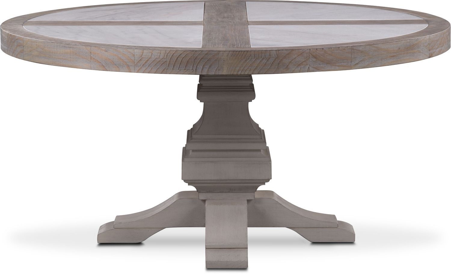 Dining Room Furniture Lancaster Round Marble Top Table Parchment With Water White Base Dining Table Lancaster Dining Table Industrial Dining Table