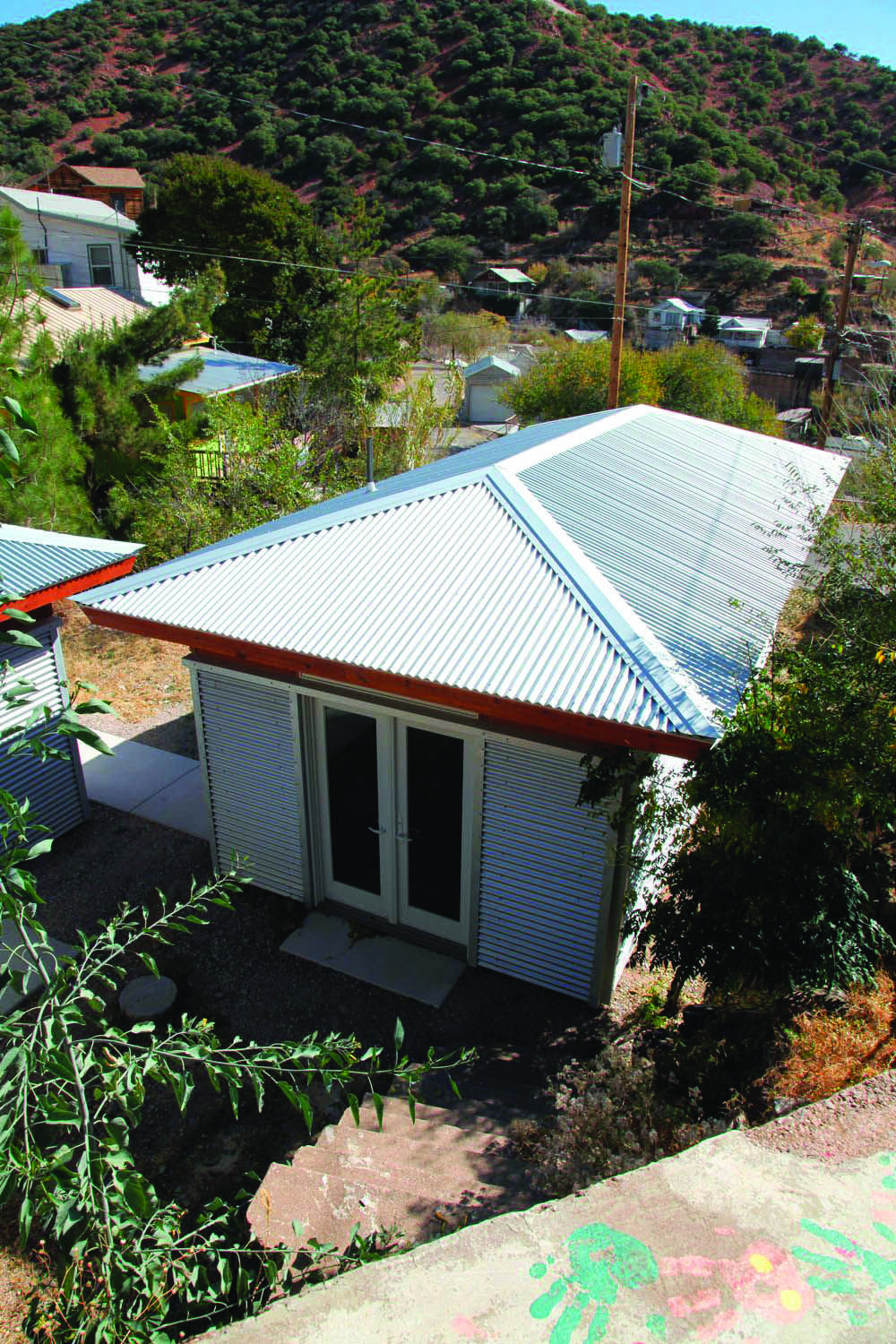 Metal Roofing Homes Tre Metal Roof Corrugated Metal Roof Roof Architecture