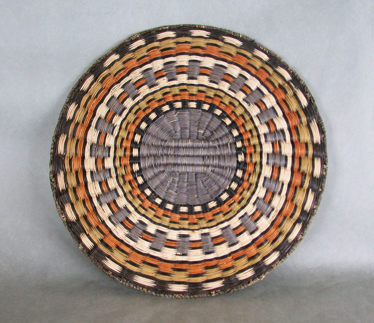 Very Finely Woven Old Hopi Third Mesa Wicker Basket