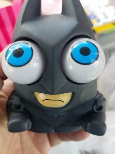BATMAN eyes BUG OUT Squeeze toy Stress Relief ball popping martian