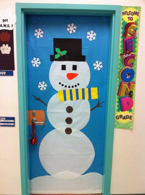 Ideas para decorar puertas escolares en navidad for Decoracion de puertas escolares