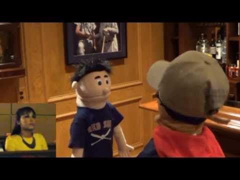 Cute Puppet Movie Trailer Wedding Proposal