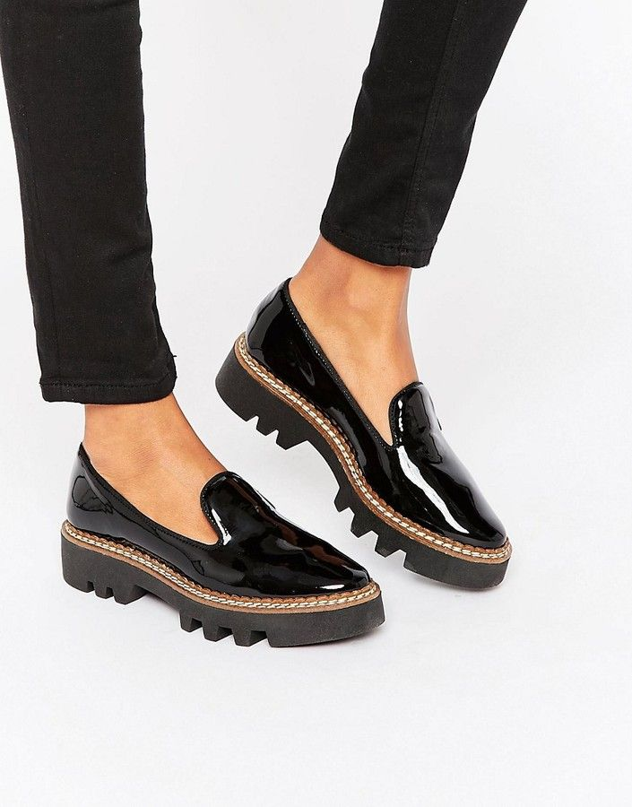 15fbb1346c8 ALDO Chunky Sole Flat Shoes