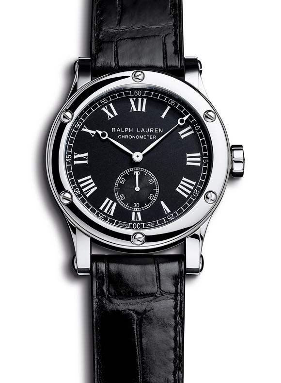 This new model by @Ralph Lauren combines the elegant classicism of a men's #watch to the technology of a COSC-certified movement.