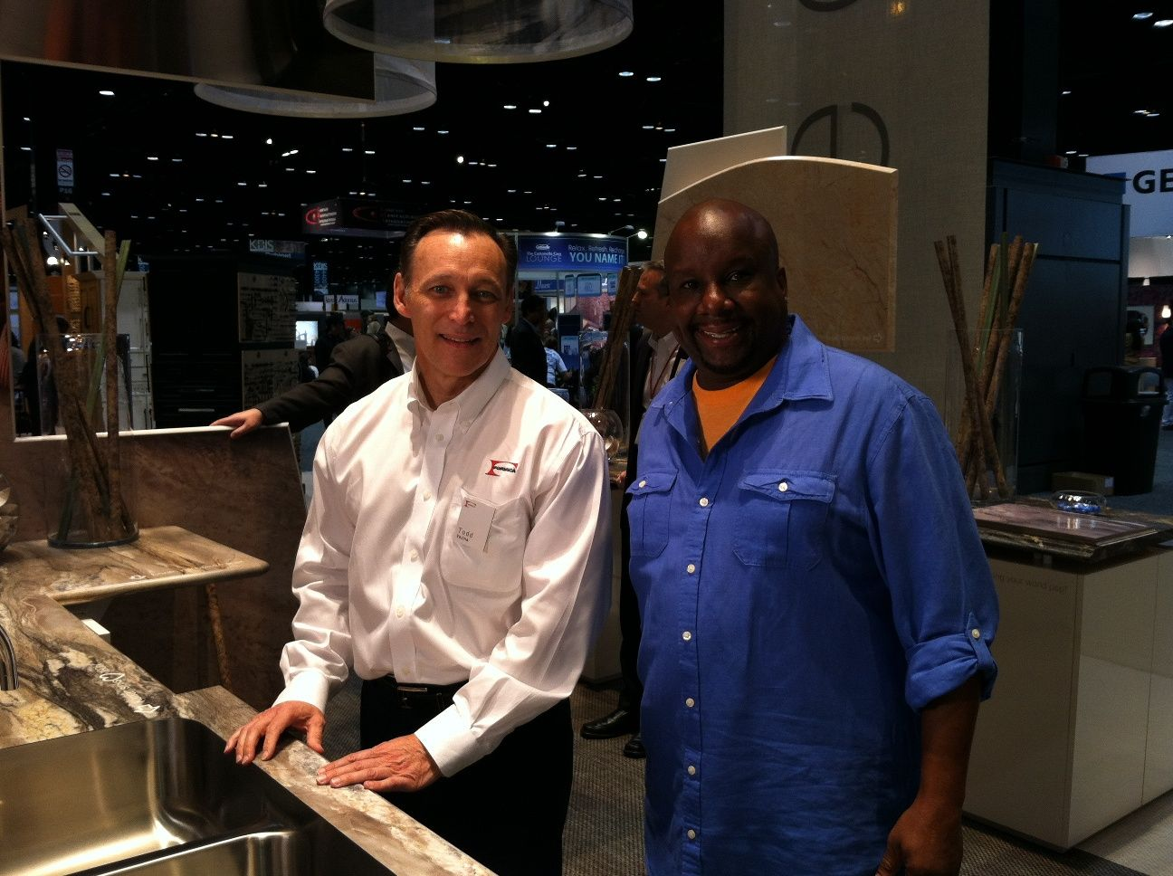 James Young From Diy Network S I My Kitchen Films Inside The Formica Corporation