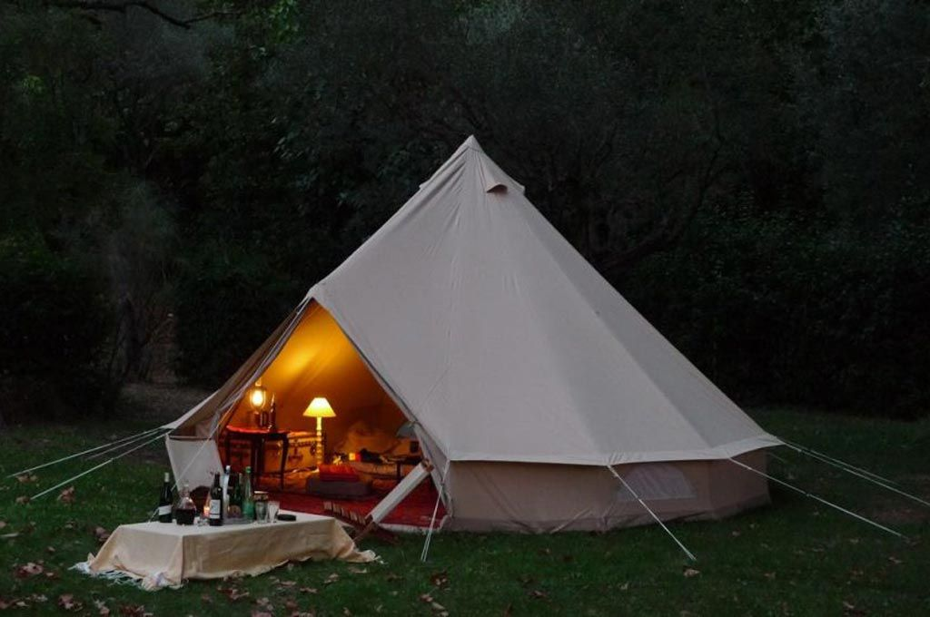 camping ardeche luxe tent