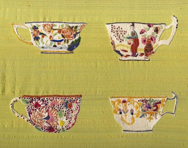 Antique China Cups with Lesley Turpin-Delport