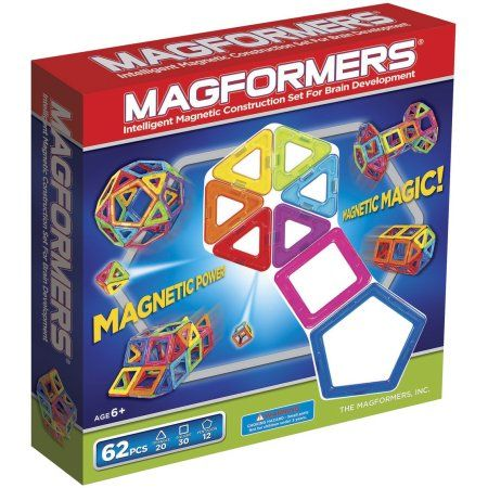 Magformers Magnetic Construction Set Classic 62 Piece Products