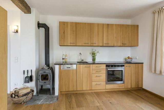 PURESLeben    Weinstöckl Sausal    Küche mit Holzofen    Lagenhaus - holzofen für küche